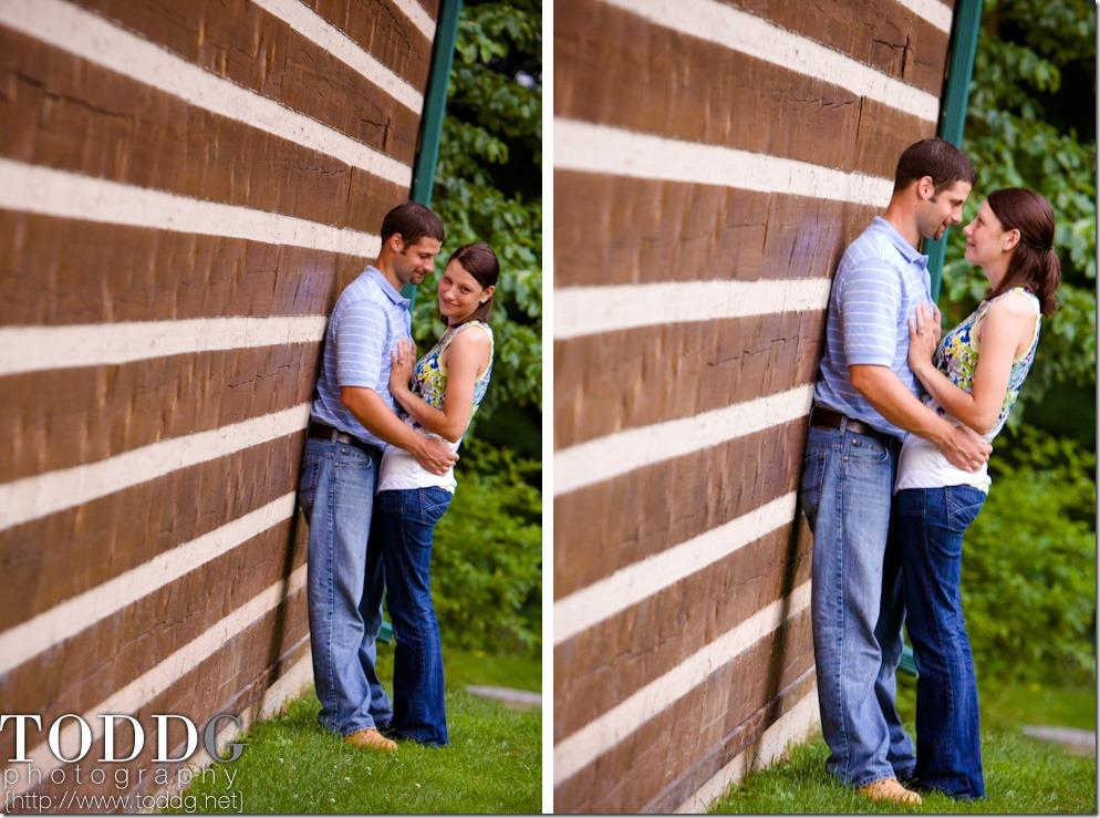 Sarah & Ben at Governor Dick nature center